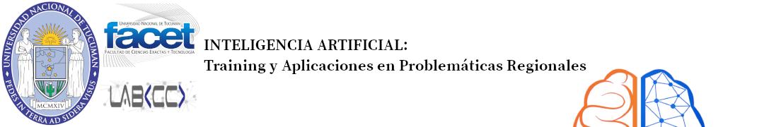 Inteligencia Artificial: Training y Aplicaciones en Problemáticas Regionales Logo