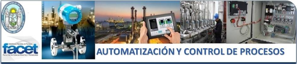 Automatización y Control de Procesos logo
