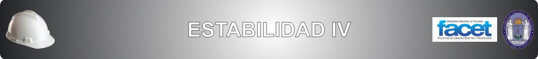 Estabilidad IV logo