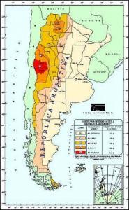 Sismos Mapa Zonificacion Arg