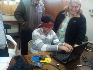 Navegando un sitio web con lector de pantalla. Técnicas de accesibilidad
