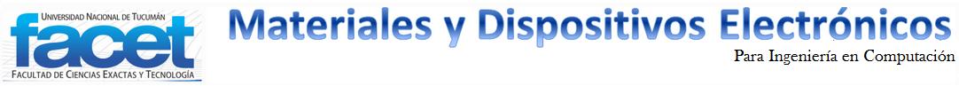 Materiales y Dispositivos Electrónicos logo